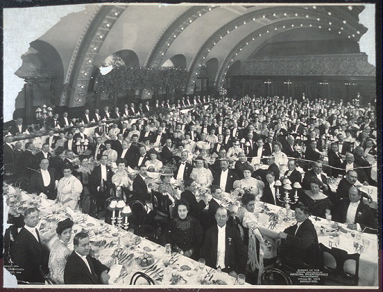 Banquet of the National Association of Agricultural Implement and Vehicle Manufacturers, October 11th, 1906, Auditorium Hotel