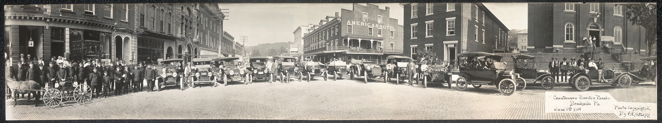 Chautauqua Booster Parade, Brookville, Pa., June 9th, 1914