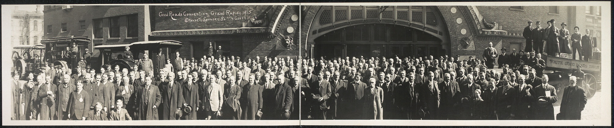 Good Roads Convention, Grand Rapids, 1915