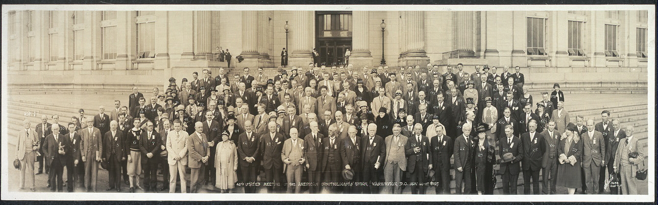 45th stated Meeting of the American Ornithologists' Union, Washington, D.C., Nov. 14-17, 1927