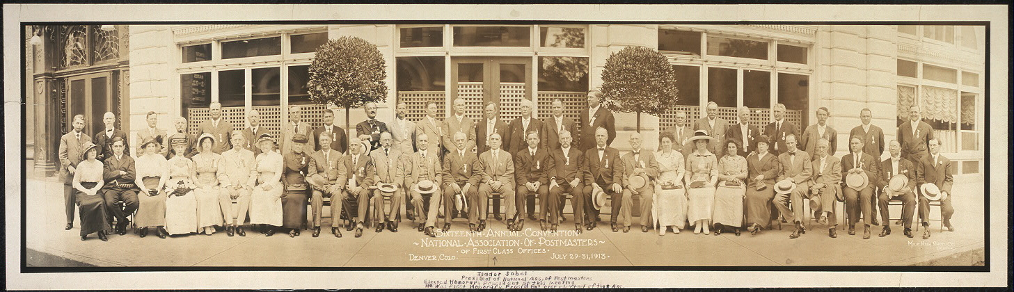 Sixteenth annual convention, National Association of Postmasters of First Class Offices, Denver, Colo., July 29-31, 1913