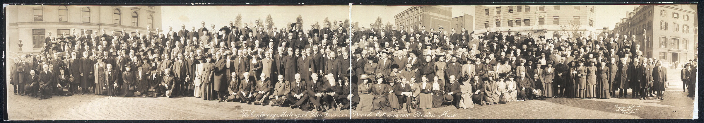 The centenary meeting of The American Board, Oct. 11-14, 1910, Boston, Mass.
