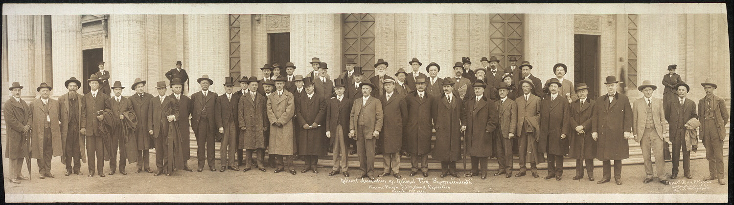 National Association of National Park Superintendents, Panama Pacific International Exposition, March 13th, 1915