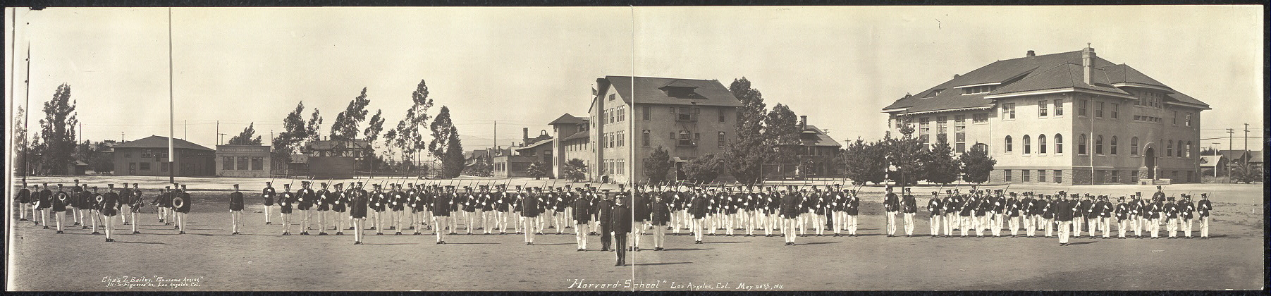 """Harvard School"", Los Angeles, Cal., May 26th, 1911"