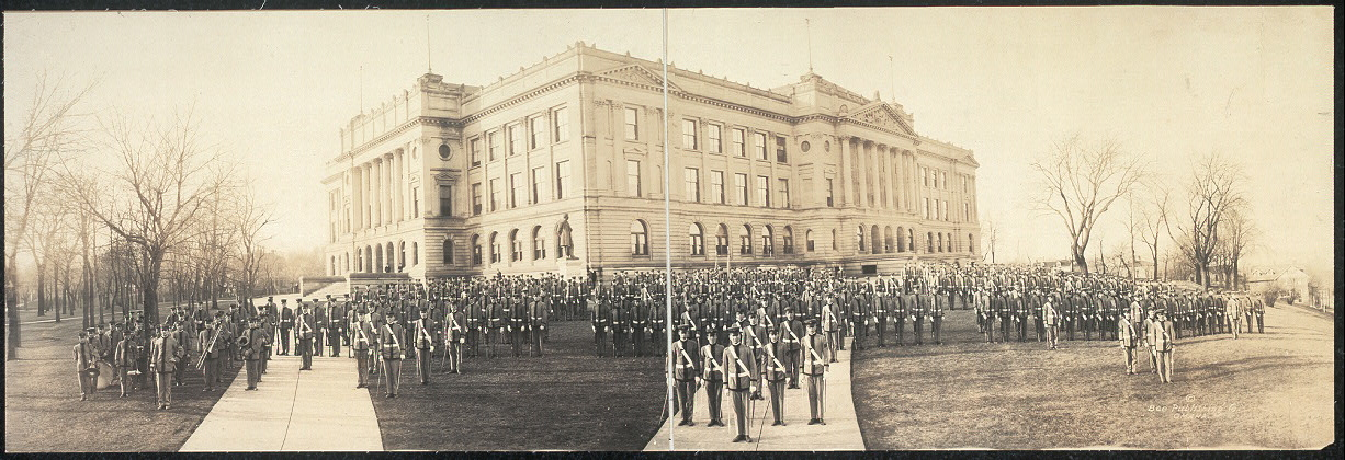 Omaha High School & cadets