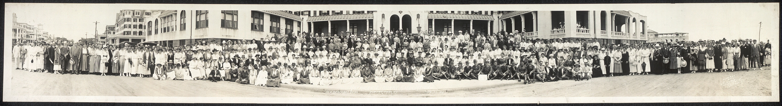 American Library Association, New Monterey Hotel, Asbury Park, N.J., June 25, 1919