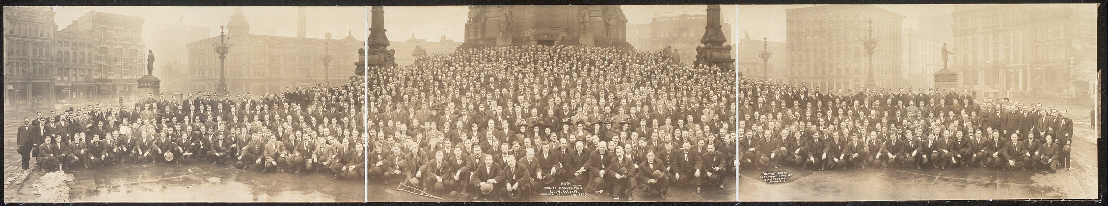 20th Annual Convention, U.M.W. of A., Indianapolis, Jan. 1909