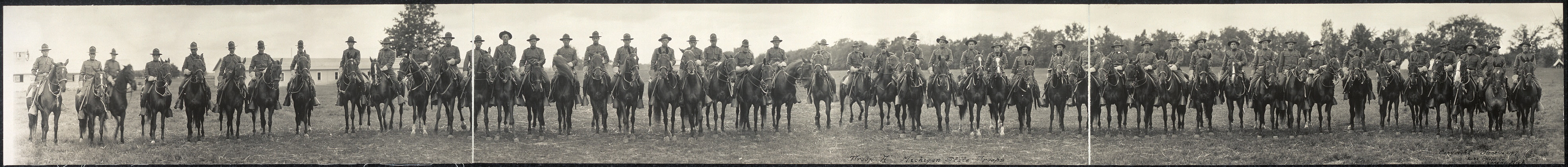 "Troop ""A"", Michigan State Troops"