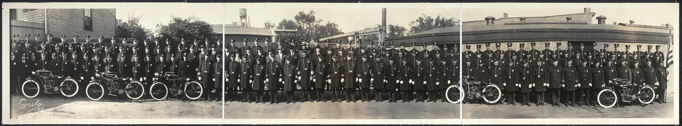 Police Department, City of Bridgeport, Conn., Oct. 3, 1914
