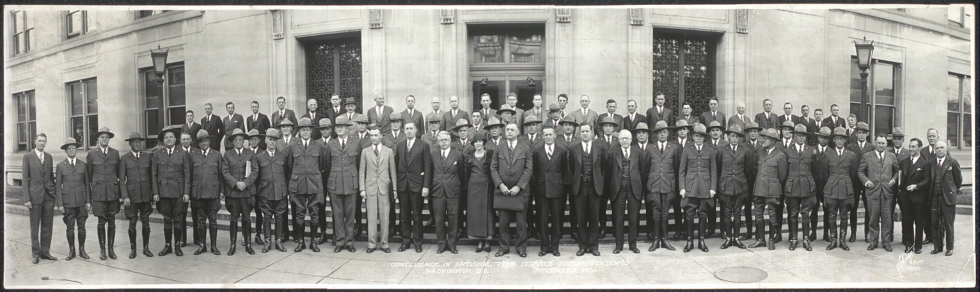 Conference of National Park Service Superintendents, Washington, D.C., November, 1934