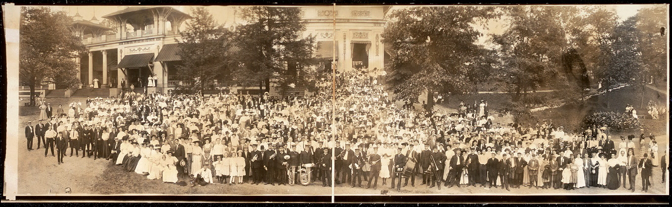 [Second annual picnic, Carnegie Steel Co.]