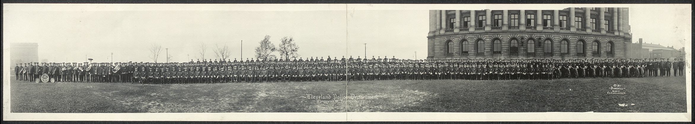 Cleveland Police Department, Cleveland, O., September 17-19