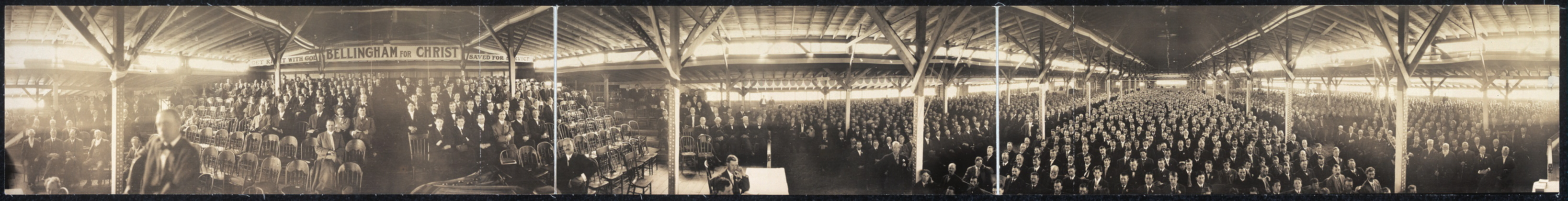 [Interior of Billy Sunday Tabernacle]