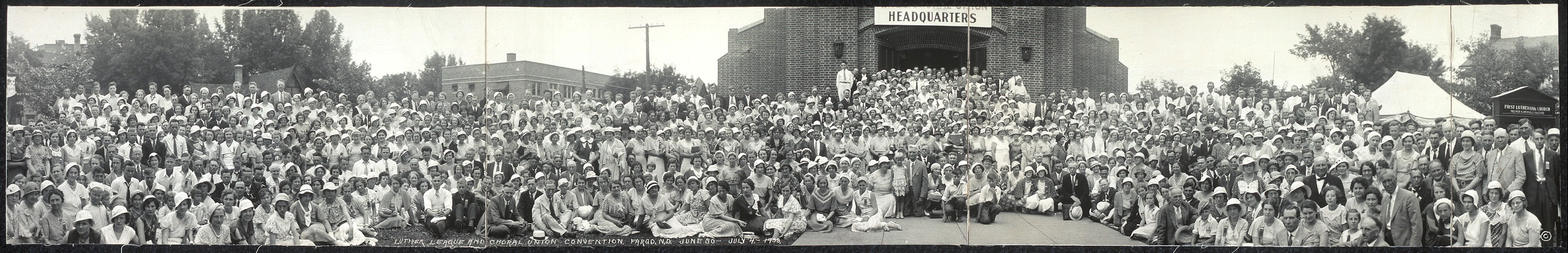 Luther League and Choral Union Convention, Fargo, N.D., June 30 - July 4, 1933