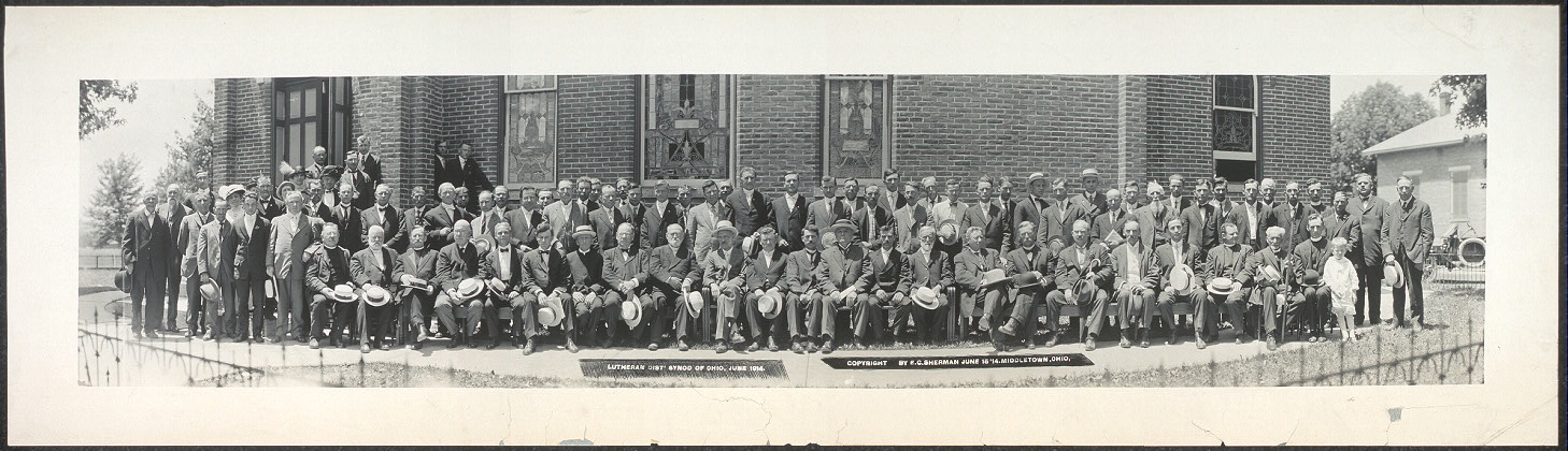 Lutheran Dist. Synod of Ohio, June 1914