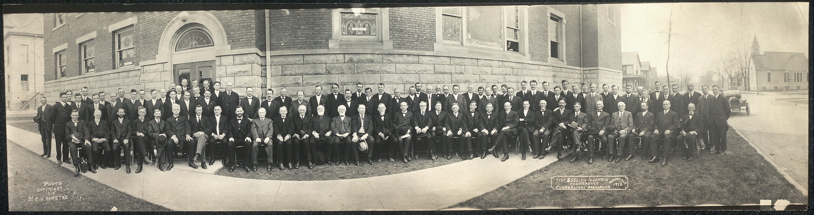 71st Session Illinois Conference, Evangelical Association, Naperville, 1915