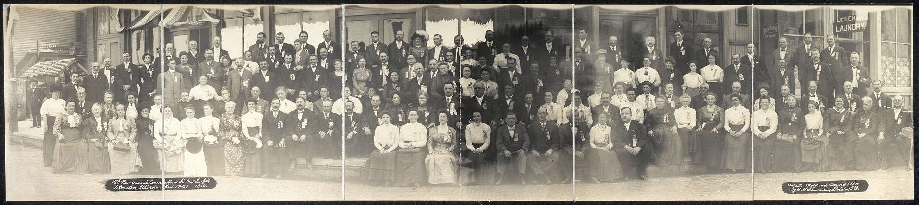 16th Bi-ennial Convention, K. & L. of H., Streator, Illinois, Oct. 17-21, 1910