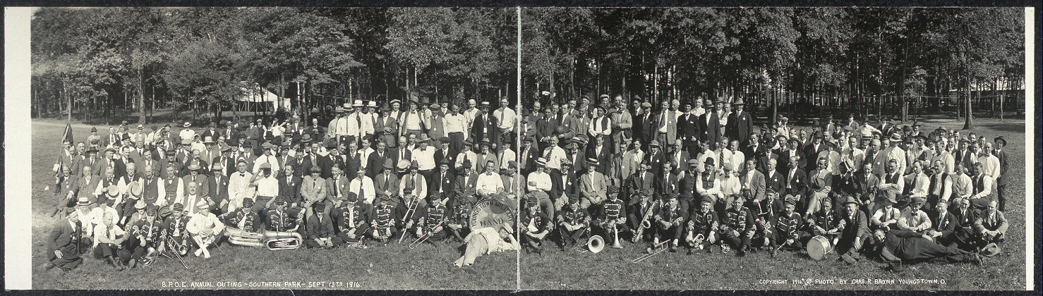 B.P.O.E. annual outing, Southern Park, Sept. 13th, 1916