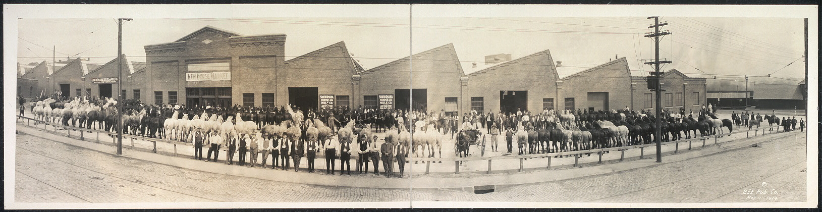 The Horses Market, South Omaha, Nebr.