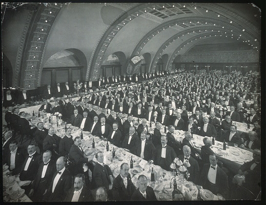 Chicago Commercial Assn. Banquet, Oct. 7th, 1905