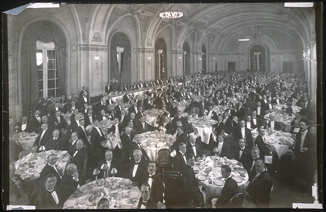 Banquet by Illinois State Bar Association to Justices of Supreme Court of Illinois, Hotel LaSalle, Chicago, Oct. 30, 1909