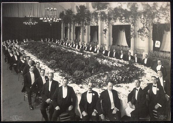 Dinner by Hon. Daniel F. Lafean to the boys, The Willard, Washington, D. C., Feb. 26, 1907