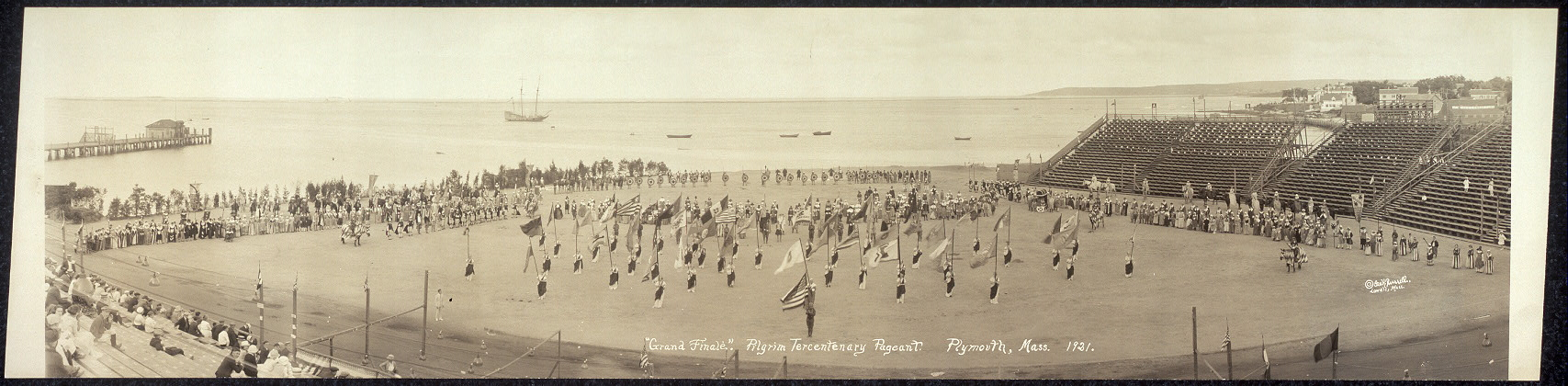 """Grand Finale"", Pilgrim Tercentenary Pageant, Plymouth, Mass., 1921"