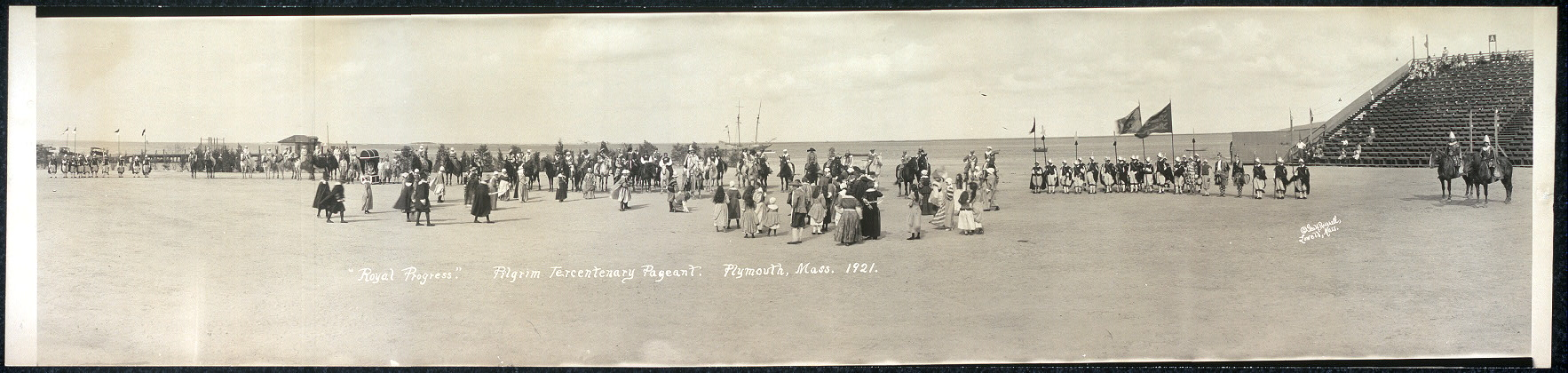 """Royal Progress"", Pilgrim Tercentenary Pageant, Plymouth, Mass., 1921"