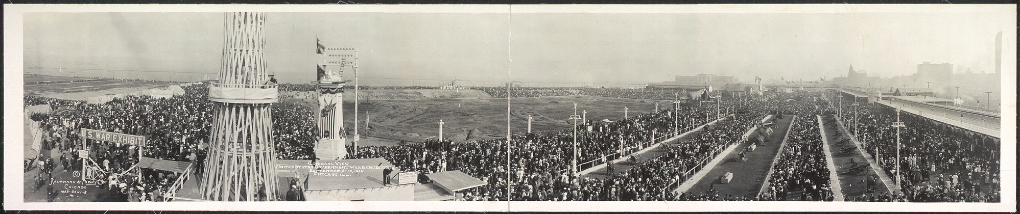 General view, United States Government War Exhibition, September 2-15, 1918, Chicago, Ill.