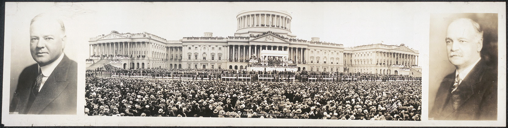 Inauguration of President Hoover, Washington, D.C., March 4, 1929