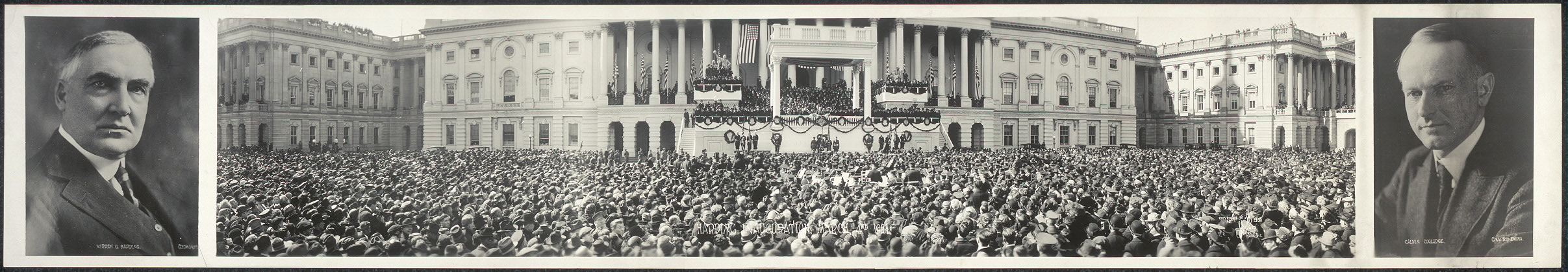 Harding Inauguration, March 4th, 1921