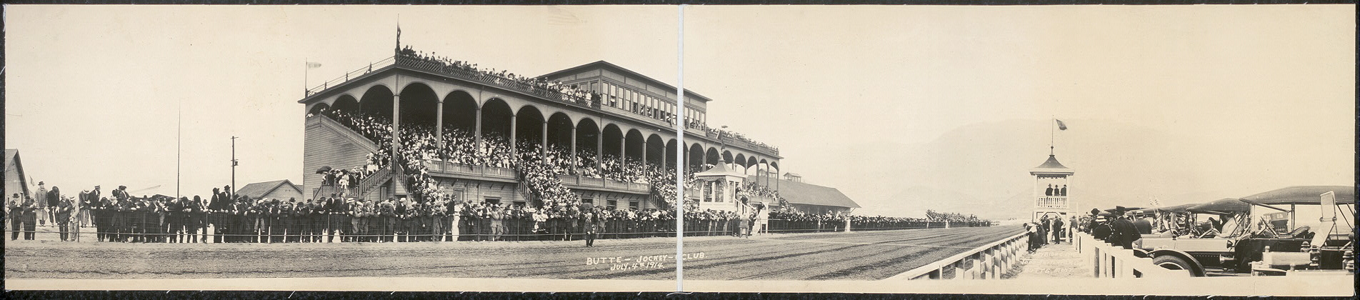 Butte Jockey Club, July 4th, 1914