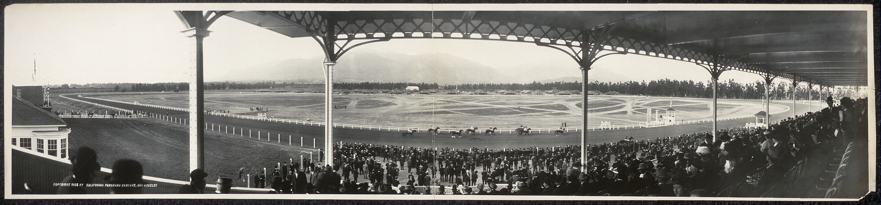 General view, Santa Anita Race Track