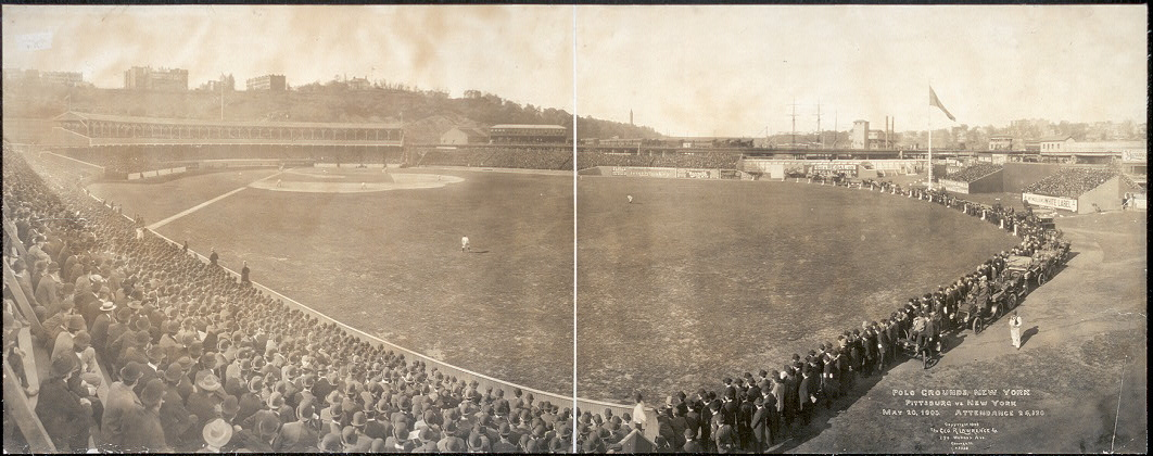 Polo Grounds, New York, Pittsburg vs. New York, May 20, 1905, attendance 24,620