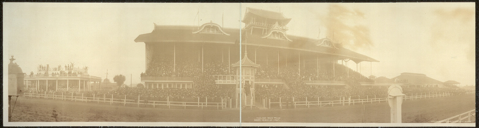 Oakland Race Track, Burns Handicap, 1907