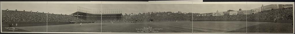 """Ewing Field"", Opening of San Francisco's New Baseball Park, May 16th, 1914, 17,500 fans assembled"