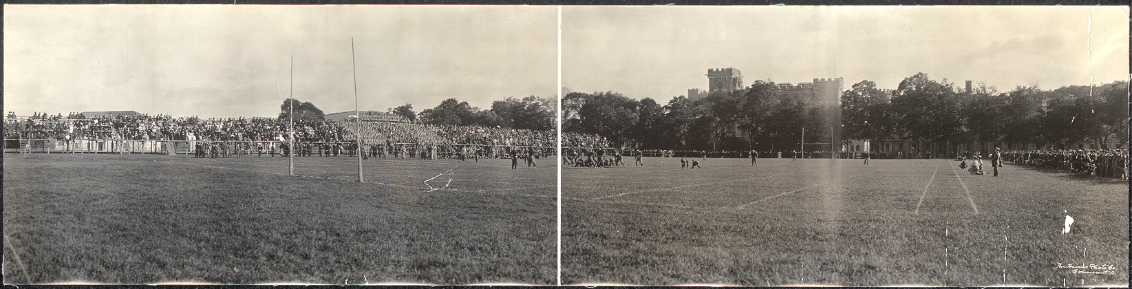 [Foot ball game at West Point]