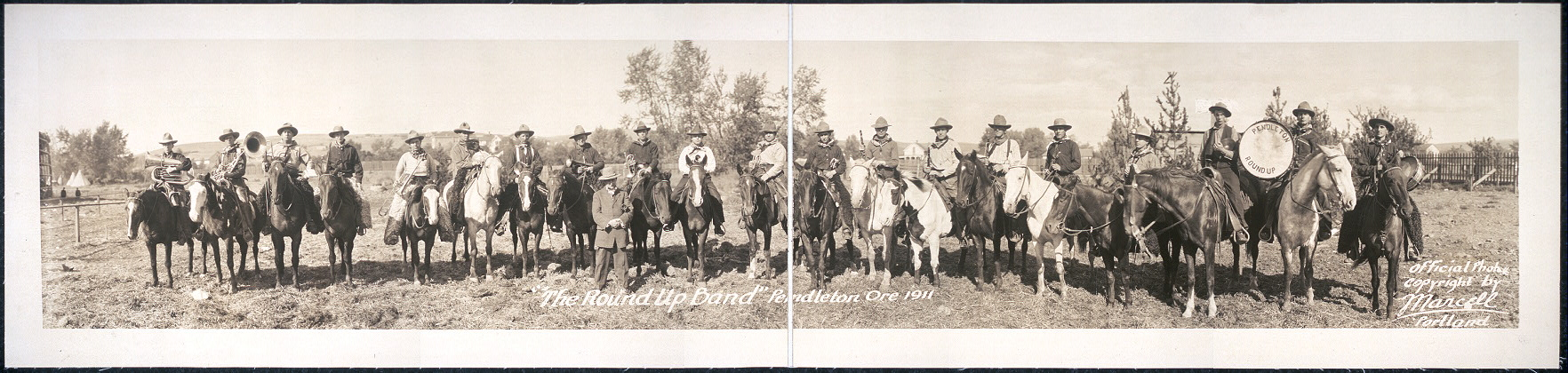 """The Round-Up Band"", Pendleton, Ore., 1911"