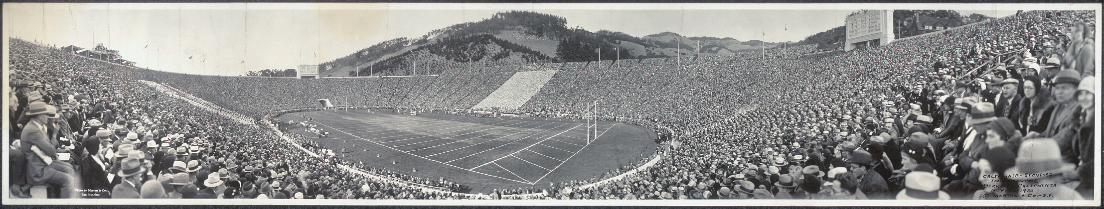 California-Stanford football game, Berkeley, Cailfornia, Nov. 22, 1930