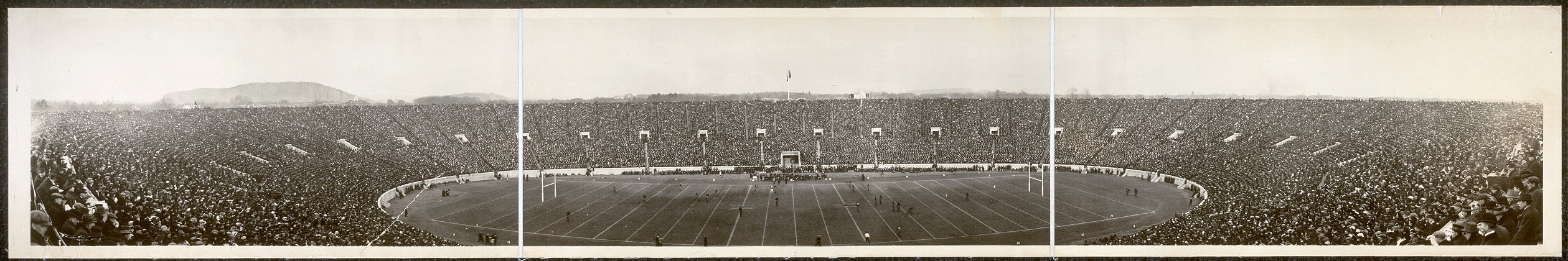 [1914 Yale - Harvard football game]