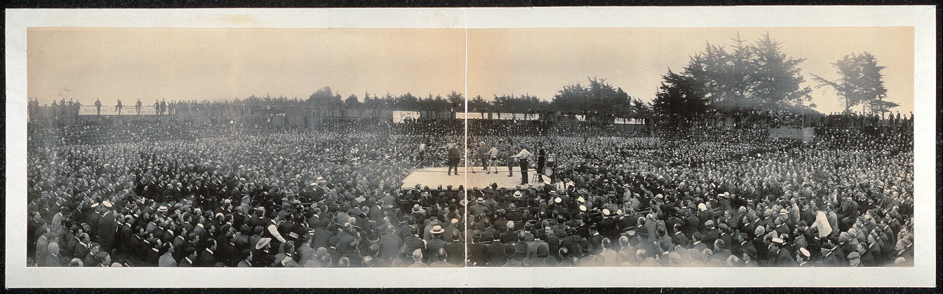[Nelson - Britt prize fight for Lightweight Championship, San Francisco, September 9th, 1905]