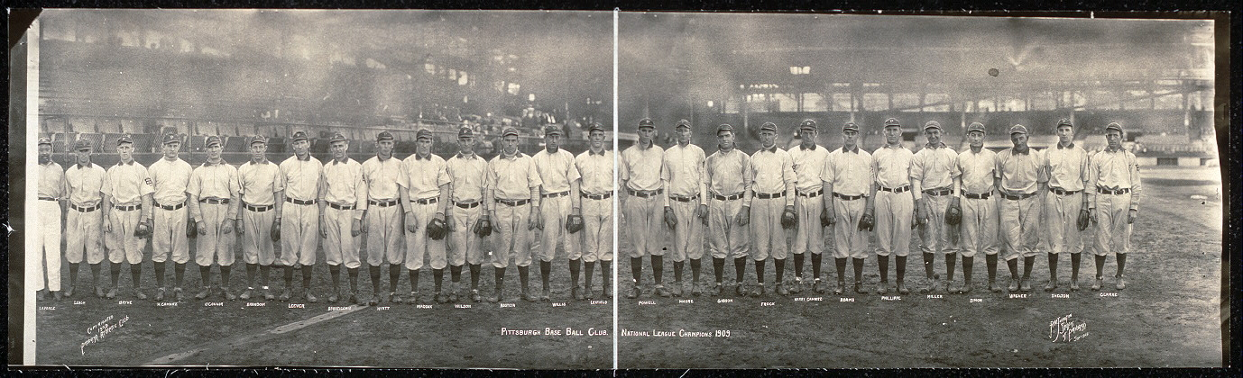 Pittsburgh base ball club, National League champions, 1909