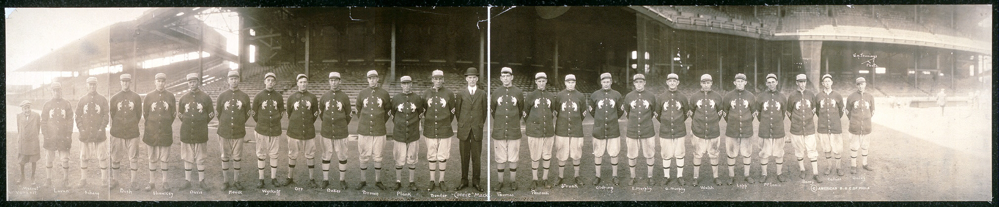"Philadelphia ""Athletics"", Champions of the World, 1913"