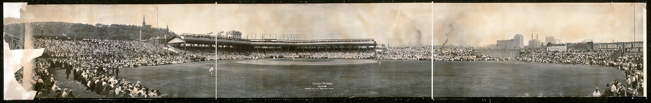 Chicago-Pittsburg, July 2, 1908