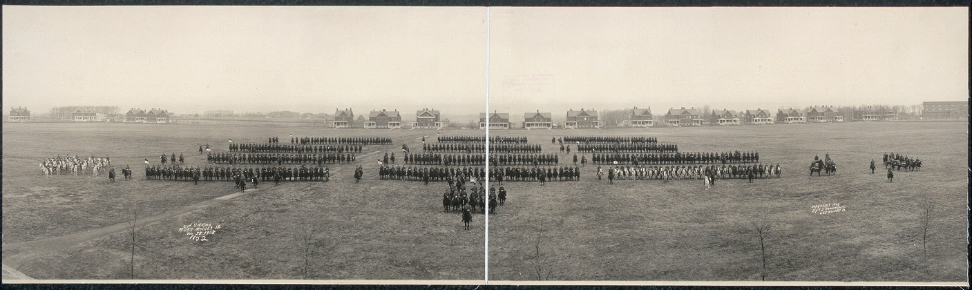 2nd U.S. Cav., Ft. Des Moines, Ia., Nov. 28, 1908
