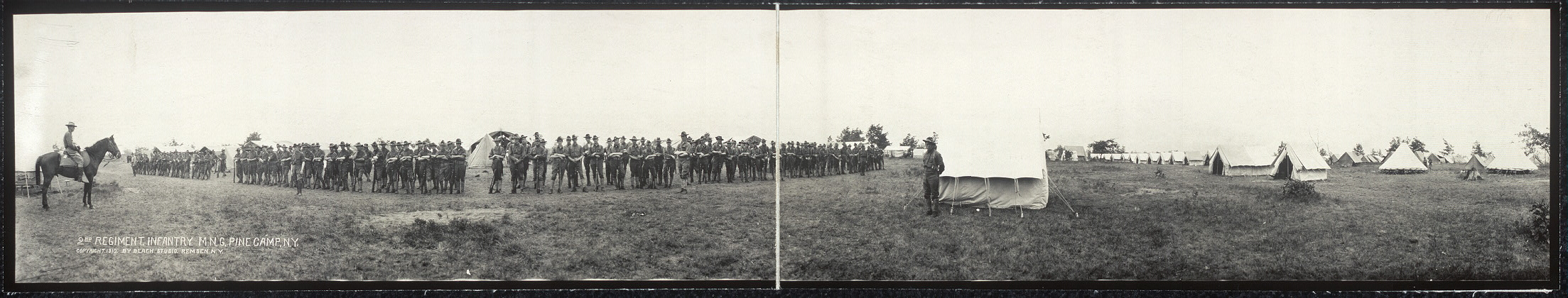 2nd Regiment Infantry, M.N.G., Pine Camp, N.Y.