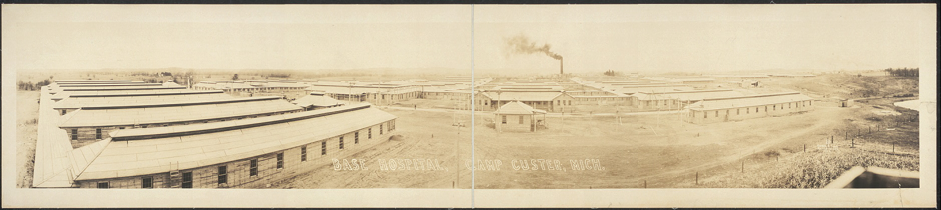 Base Hospital, Camp Custer, Mich.