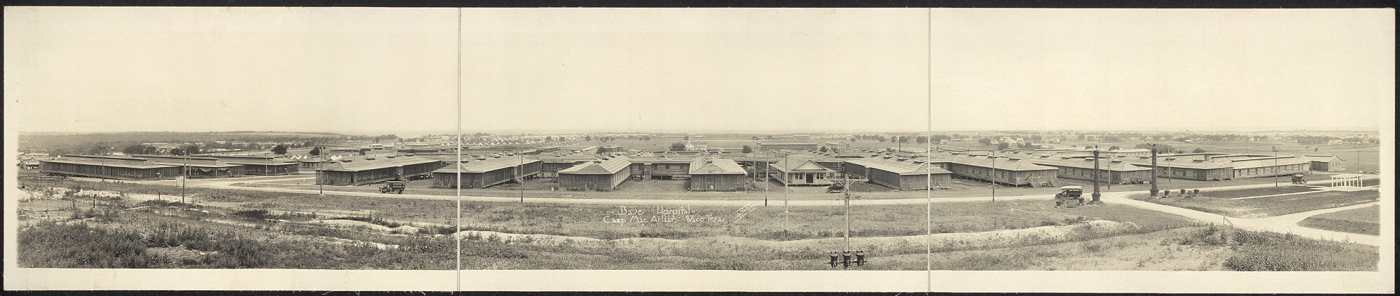 Base Hospital, Camp MacArthur, Waco, Texas