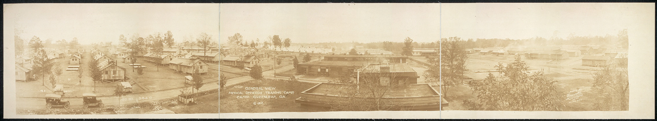 General view, Medical Officers Training Camp, Camp Greenleaf, Ga.