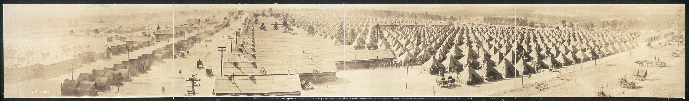 M.G. Training School Camp, Camp Hancock, Augusta, Georgia
